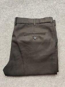 Farah Classic Mens Dress Pants Slacks Size 97S / 38 W Straight Leg Pleated