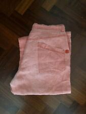 Pantalone hugo boss pants pink trouser no jeans lino taglia size 52