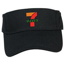 7 11 7 ELEVEN CONVENIENT MART MARKET GAS STATION SUN VISOR CAP HAT ADJUSTABLE