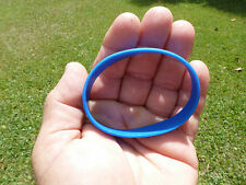 Silicon Blue Wrist Band ~ No Printing ~ Plane ~New and Sealed ~  Fast Shipper...