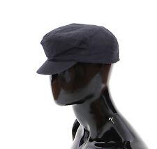 NUEVO CON ETIQUETA DOLCE & GABBANA Algodón Azul Gorra Logo Sombrero cappuccio