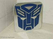 hitch cover,TRANSFORMER AUTOBOT BLUE , CHEVY,FORD