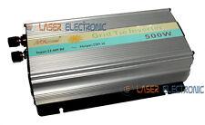 Inverter Solare di Rete On Grid Tie Onda Pura 500W 22-60 VDC Immissione 220Vac
