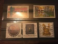 5 TIMBRES ALLEMANDS  OBLITERES