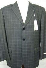 NWT $495 Joseph Abboud Gray 4Season Wool Sport Coat Blazer 42R