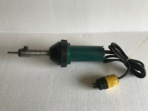 LEISTER TRIAC Hot Air Plastic Welder-Shrinking hot air Gun 120V 1680 WATT