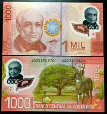 [T2.3 10898]  Costa Rica 1000 Colones 2009 UNC Polymer P-274 Banknotes