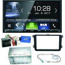 Kenwood DMX-7017DABS Bluetooth Einbauset für Golf 5 6 Passat 3C CC B7 Touran