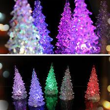 Decoración Lámparas12cmX5.8cm Árbol De Navidad Con Led Luces Invierno Jardín