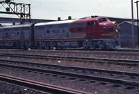 SANTA FE Railroad Streamliner Locomotive ATSF 311 Original 1972 Photo Slide
