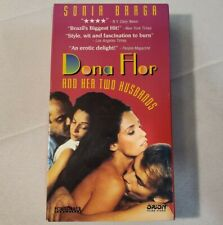Dona Flor And Her Two Husbands VHS 1978 Sonia Braga Fox Lorber Home Video