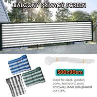 "197""x35"" Garden Privacy Screen Balcony Wind Sun Shield Outdoor Patio Fence"