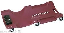 KRAFTWERK Werkstatt Rollbrett Liegepritsche Werkstattliege ABS Kunststoff  3991