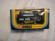 Corgi Toys-  No. 424, SECURITY VAN, in Very Nice Condition!