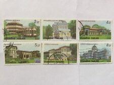 1990 Thailand Stamps Complete Set #SC 1367-1372