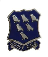 Sussex County Cricket Club CCC Pin Badge