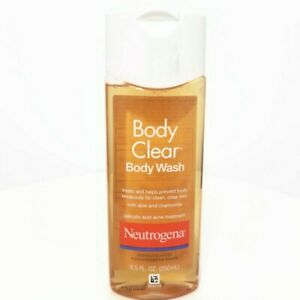 Neutrogena Body Clear Body Wash Salicylic Acid Acne Treatment 8.5oz (250ml)
