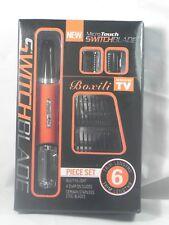 Afeitadora , rapadora Micro Touch Max Switchblade Depiladora 2 en 1. 6 piezas
