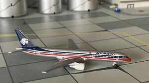 Boeing 757-200 Aeromexico 1:500 mit OVP Herpa Wings Flugzeugmodell