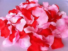 150 Mixed White Red Pink Flower Rose Pedals Party, We Support Cancer Patients