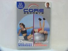 CORE SECRETS 25 Minute FULL BODY WORKOUT & ACCELERATED TRAINING FITNESS DVD