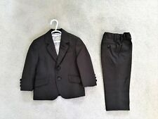 Boys Size 2 Industrie Indie Suit Jacket and Pants Trousers Dark Grey Pinstripe