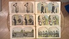 Rare Set of 25 WW1 Stereographs of U.S. Soldier