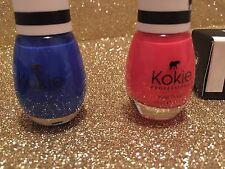 2X New Kokie Professional Nail Polish-Gone Rio, Atlantis at Last, 0.54 oz, full