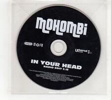 (GV444) Mohombi, In Your Head - 2010 DJ CD