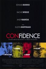 CONFIDENCE Movie POSTER 27x40 Edward Burns Rachel Weisz Morris Chestnut Leland