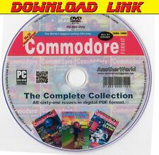 COMMODORE FORMAT Magazine Collection DOWNLOAD AMIGA/C64/C128/CDTV/CD32/500 Games