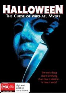Halloween 6 DVD The Curse Of Michael Myers 1995 - RARE MOVIE - Aust Reg 4 PAL