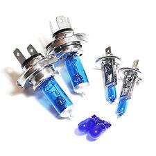Peugeot 1007 55w ICE Blue Xenon HID High/Low/Fog/Side Headlight Bulbs Set