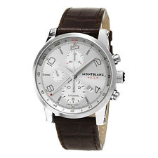 Montblanc Timewalker ChronoVoyager UTC Men's Brown Strap Automatic Watch 107065