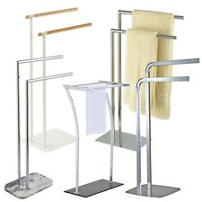 Stainless Steel / Chrome 2 & 3 Bar Towel Rail / Racks | Showerdrape
