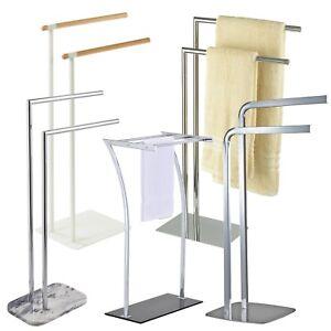 Stainless Steel / Chrome 2 & 3 Bar Towel Rail / Racks   Showerdrape