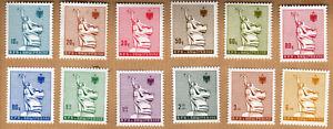 Albania 1986 Complete Set MNH Michel Catalog nº 2311/22 ***