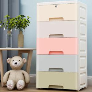 Nafenai Nordic style 5 Layer Plastic Clothing Storage Cabinet Drawer Type Childr