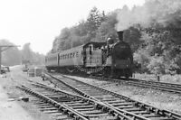 PHOTO British Railways Steam Locomotive Class M7 30055 at Rowfant in 1960
