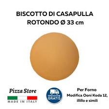 BISCOTTO DI CASAPULLA ROTONDO - FORNO ILLILLO - DIAMETRO 33 CM - SPESSORE 1,5 CM
