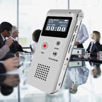 GI- KQ_ DV_ 8/16GB Multianguage Digital Audio Sound Voice Recorder Pen Dictaphon