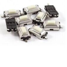 20pcs Tactile Push Button Key Switch 2-pin Micro Mini Switch SMD 3X6X2.5mm