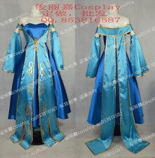 LOL Sona Halloween Party Lolita Dress Cosplay Costume J001