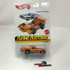 '57 T-Bird * Orange * Hot Wheels FLYING CUSTOMS * WA2