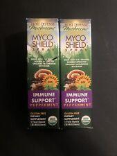 Lot Of 2 Host Defense Mushrooms Myco Shield Immune Spray - 1 Oz EACH - EXP 03/23