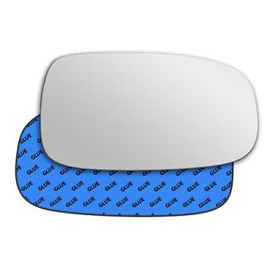 Right wing adhesive mirror glass for Cadillac BLS 2005-2010 153RS