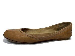 Frye Bei Leather Ballet Flats Womens 10 B