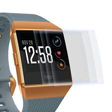 3x Display Schutz Folie für Fitbit Ionic - Displayfolie Schutz Hülle Cover Klar