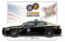 Dodge Charger Florida Highway Patrol  - Patrol Car Profile