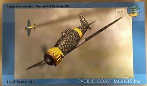 PACIFIC COAST MODELS Regia Aeronautica Macchi C.200 Serie VII Plastic Model kit